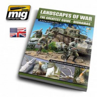 Ammo Mig Jimenez EURO-0004 LANDSCAPES OF WAR: THE GREATEST GUIDE - DIORAMAS VOL. 1 ENGLISH