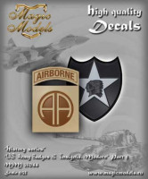 Magic Models MM35044 US Army Badges & Insignia. Modern. Part 1