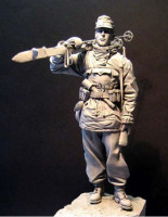 Jeffchiu's Miniatures JS120052 WWII German Ski Troop, 120 мм