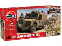 Airfix 50121 British Forces - Land Rover Patrol (Operation Herrick, Afghanistan) 1:48
