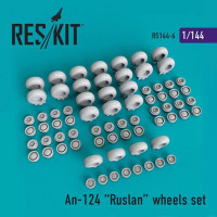Reskit 14406 1/144 An-124 Ruslan wheels set (REV)