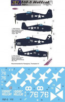 Lf Model C3274 1/32 Decals F6F-5 Hellcat (HAS/TRUMP) Part 1