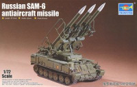Trumpeter 07109 SAM-6 Surface-to-air Missile System 1:72