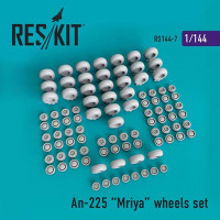 Reskit 14407 1/144 An-225 Mriya wheels set (REV,ZVE)
