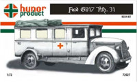 Hunor Product 72027 41M Ford G917 Kfz. 31. Ambulance 1/72