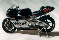 REJI MODEL DECRJM044 1/12 West Honda Pons2001