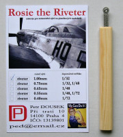Dousek Riveters PDRIVET05 Rosie the Riveter 1.00mm (for 1/32)