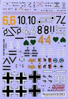 Authentic Decals AD 4836 WWII Luftwaffe Bf.109F-2 Luftwaffe Experts on the Eastern front
