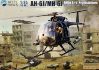 Kitty Hawk 50003 AH-6J/MH-6J Little Bird 1:35