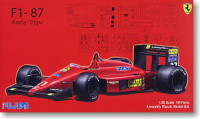 Fujimi 090634 Ferrari F1-87 Early Type 1:20