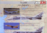 Amigo Models AMD 172022 1/72 Decals Su-24M Syrian Warriors Part 1