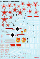 "Foxbot 48-008 Soviet interceptor and fighter aircraft Yak-9 ""Red warhorses"" 1/48"