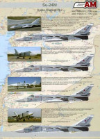 Amigo Models AMD 172022-1 1/72 Decals Su-24M Syrian Warriors Part 2