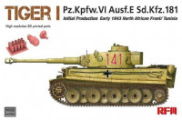 RFM Model RM-5001U Tiger I initial production early 1943 without interior 1:35