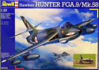 Revell 04703 Самолет-перехватчик Hawker Hunter FGA.9/F.58 1/32