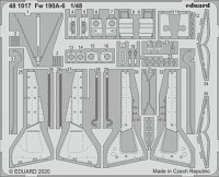 Eduard 481017 SET Fw 190A-6 (EDU)