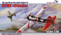 Wingsy Kits D5-02 Type 96 A5M4 Claude 1:48