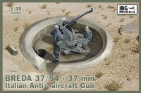 IBG 35009 Breda 37/54 37mm Italian Anti-aircraft Gun 1:35