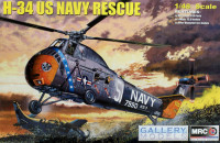 MRC 64102 Sikorsky H-34 US Navy Rescue 1:48
