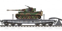 Hobby Boss 82934 Schwere Type SSyms 80 + PzKpfw VI Ausf E Tiger 1:72