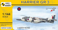 Mark 1 Model MKM-14488 1/144 Harrier GR.3 'Laser Nose' (4x camo)