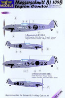 Lf Model C3261 1/32 Decals Bf 109B Legion Condor (EDU)