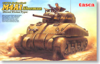 Asuka Model 35-025 U.S. Medium Tank M4A1 Sherman (Direct Vision Type)