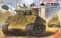 Asuka Model 35-021 U.S. Assault Tank M4A3E2 Sherman JUMBO