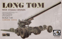 AFV club AF35009	M59 155mm LONG TOM CANNON