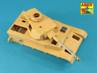 Aber 35 L-046n German 75 mm Barrel for Kwk 40 L/48 with early model muzzle brake for Pz.Kpfw. IV Ausf.G late - Ausf.H