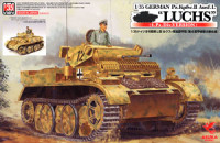 Asuka Model 35-006 German Tank II Luchs 4.Pz.Div. Version 1:35