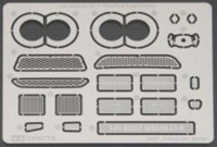 Tamiya 12623 1/24 Nissan GT-R Photo-Etched Parts