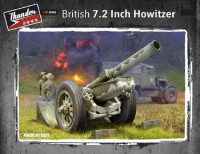 Thunder model TM35211 British 7.2 inch howitzer 1:35