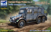 Bronco CB35220 German Krupp Protze Kfz.19 Radio command Car 1:35