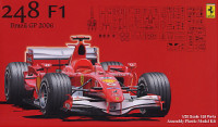 Fujimi 090474 Ferrari 248F1 Brazil GP Skeleton Body 1:20