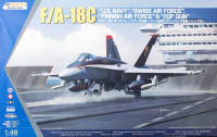 Kinetic K48031 F/A-18C US Navy, Swiss AirForce, Finnish AirForce 1:48