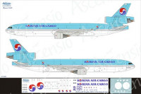 Ascensio 011-006 McDouglas MD-11F Korean Air Cargo 1/144