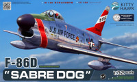 Kitty Hawk 32007 F-86D Sabre Dog 1:32