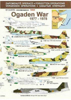 DP Casper DPC-72029 1/72 Forgotten Operations - OGADEN WAR, 1977-78