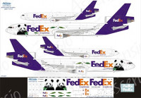 Ascensio 011-007 McDouglas MD-11F FedEx 1/144