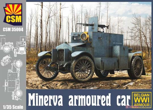 Copper State Models CSM35004 Minerva Armoured Car 1:35