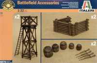 Italeri 06870 Аксессуары Artillery Position Accessories