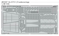 Eduard 481027 SET Do 217J-1/2 undercarriage (ICM)