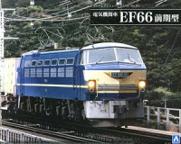 Aoshima 05408 Electric Locomotive Type EF66 Early Type 1:45