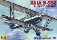 RS Model 92080 Avia B.534 IV. What if and Zurich 1937 1:72