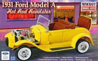 Minicraft MI11240 31 Ford Model A Hot Rod Roadster 1:16
