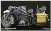 Voyager Model PE35033 Photo Etched set for ZUNDAPP MOTO (For TAMIYA 35017/35283)  1/35