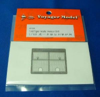 Voyager Model AP030 Tiger I early Version Grill (For TAMIYA)  1/48