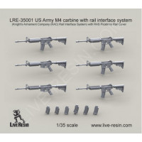 LiveResin LRE35001 1:35 US Army M4 carbine