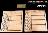 Voyager Model AP031 Tiger I early/Mid/Late Version SideSkirt (For TAMIYA/ACADEMY) 1/35